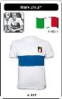 2 x ITALIEN RETRO TRIKOT 1960 WEISS