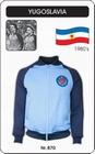 1 x JUGOSLAWIEN RETRO JACKE FUSSBALL 1980