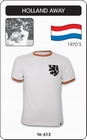 Holland Niederlande Retro Trikot Auswärts