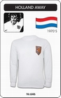 1 x HOLLAND - NIEDERLANDE - NETHERLANDS - RETRO TRIKOT