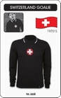 2 x SCHWEIZ - SWITZERLAND - RETRO TORWARTTRIKOT