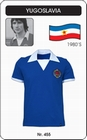 1 x JUGOSLAWIEN - YUGOSLAVIA - TRIKOT