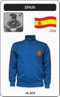 1 x SPANIEN RETRO FUSSBALLJACKE