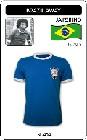 5 x BRASILIEN RETRO TRIKOT 1970 BLAU