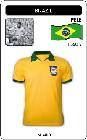 1 x BRASILIEN RETRO TRIKOT GELB