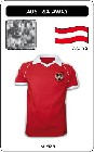 2 x STERREICH  -  AUSTRIA - WORLD CUP 1982 - TRIKOT