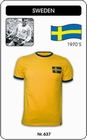 9 x SCHWEDEN - SWEDEN - SVERIGE - TRIKOT