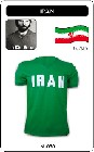 Iran Trikot Retro Fussballtrikot