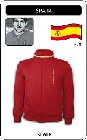 1 x SPANIEN RETRO TRAININGSJACKE