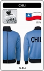 4 x CHILE RETRO TRAININGSJACKE