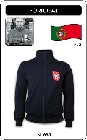 12 x PORTUGAL RETRO TRAININGSJACKE