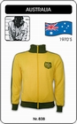 9 x AUSTRALIEN RETRO TRAININGSJACKE