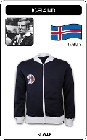 1 x ISLAND RETRO TRAININGSJACKE