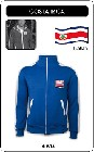 1 x COSTA RICA RETRO TRAININGSJACKE