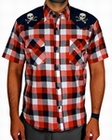 1 x CHAOS WESTERN - STEADY CLOTHING HEMD