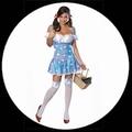 Sexy Dorothy Kostüm - Wizard of Oz