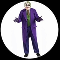 8 x THE JOKER KOST�M DELUXE - BATMAN