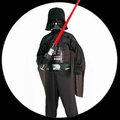 1 x DARTH VADER KINDER KOST�M - STAR WARS