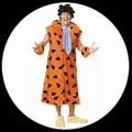 102 x FRED FEUERSTEIN KOSTM - FRED FLINTSTONE