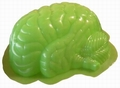 2 x PUDDING GEHIRN FORM - BRAIN MOLD