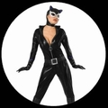 4 x CATWOMAN KOST�M DELUXE - OVERALL