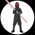1 x DARTH MAUL KINDERKOST�M - STAR WARS