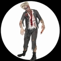 40 x HIGH SCHOOL BOY ZOMBIE KOST�M - SCHULJUNGE