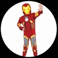 1 x IRON MAN KINDER KOST�M