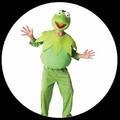 Kermit Kinder Kostüm - The Muppets - Die Muppet Show