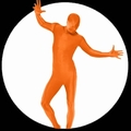 3 x K�RPERANZUG - BODYSUIT - ORANGE