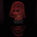 x STAR WARS DARTH VADER LED LAMPE