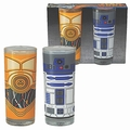 Gl�ser 2er Pack - Star Wars - R2-D2 + C-3PO