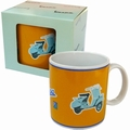 1 x VESPA TASSE - GELB