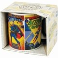 1 x SUPERMAN TASSE - COMIC COVERS
