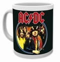 AC/DC TASSE BAND HIGHWAY TO HELL