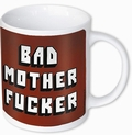 1 x PULP FICTION TASSE BAD MOTHER F*CKER
