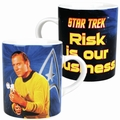 1 x STAR TREK MINI TASSE - RISK IS OUR BUSINESS