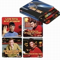 1 x UNTERSETZER - COASTER SET - STAR TREK