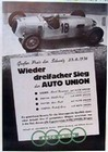 Auto Union Audi Siberpfeil, Typ C