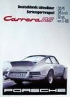 PORSCHE POSTER - PORSCHE CARRERA RS