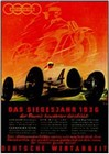 AUDI Auto Union Werbung Poster