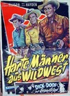 Harte M�nner aus Wildwest  -  Poster  -  Filmplakat