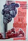 1 x EINER WAR SCHNELLER