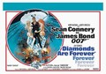2 x JAMES BOND: DIAMONDS ARE FOREVER
