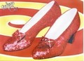 Leinwanddruck - Wizard of Oz (ruby slippers)