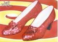 Leinwanddruck - Wizard of Oz (ruby slippers)