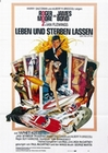 1 x LEBEN UND STERBEN LASSEN (JAMES BOND, 007) POSTER