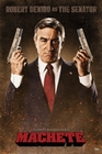 1 x MACHETE POSTER ROBERT DE NIRO AS THE SENATOR