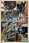 x STAR WARS POSTER RETRO COMIC COLLAGE