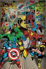 1 x MARVEL POSTER HERE COME THE HEROES